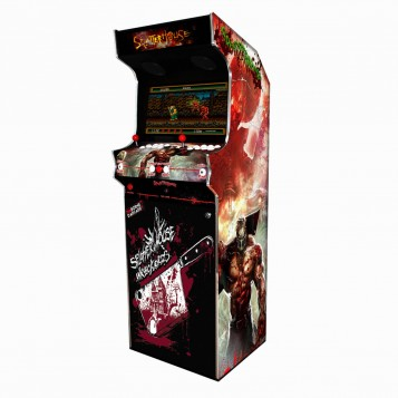 Borne Arcade Classic Profil Droit Modèle Splater House ma-borne-arcade.fr