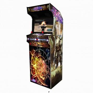 Borne Arcade Classic Profil Droit Modèle Time Machine ma-borne-arcade.fr.jpg